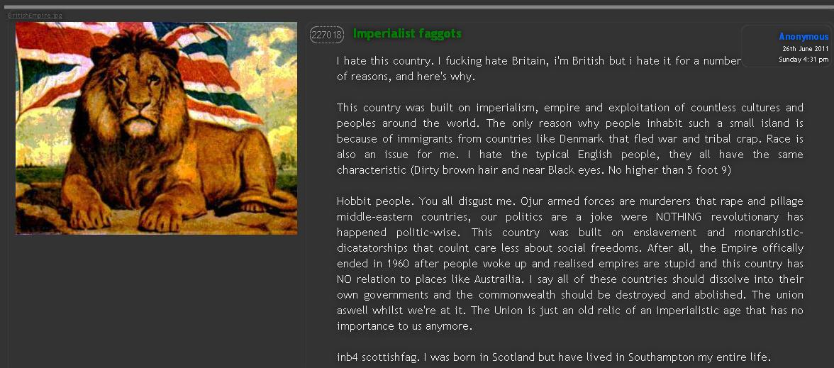 imperialism british empire and small islands
